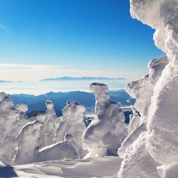 迫力満点の樹氷に圧倒されよう!この冬、絶対に見たい「樹氷スポット」