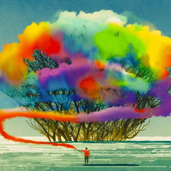"""左脳・右脳で認識が違う? """"色使い""""の基本法則を知り、ビジネスチャンスを繋げる、広げる。"""