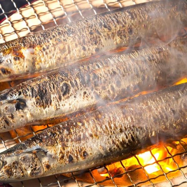 """旬の秋! 芳醇な脂の甘みが美味の""""秋刀魚""""を味わえるお店。"""