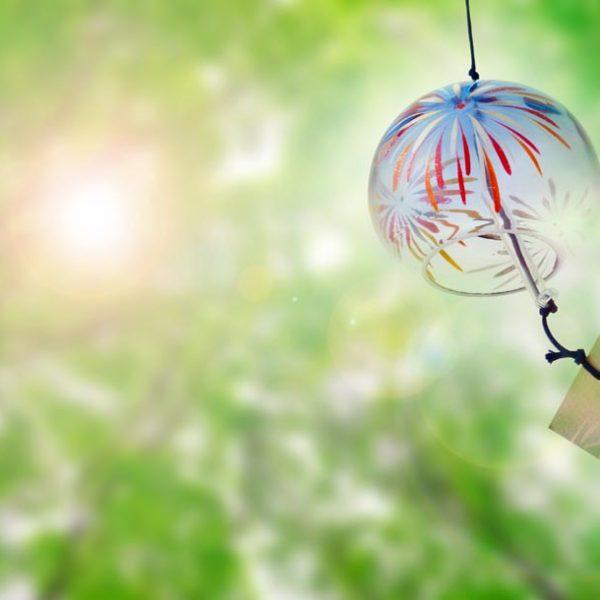 クーラーでは味わえない涼しさを……風情ある「涼」を届ける風鈴。